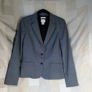 Club Monaco Italian Tropical Wool Blazer size 6